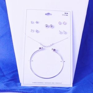 NEW Target Jewelry Set Five Post Stud Earring